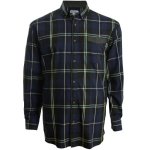 Mish Mash Big Mens Kain LS Shirt Navy