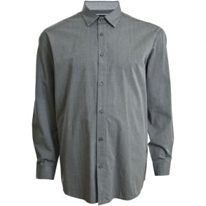 Mish Mash Big Mens Nicolas LS Shirt Dark Grey