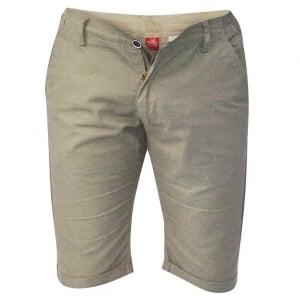 D555 Kingsize Panama Shorts Khaki