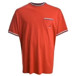 Kangol Kingsize Waldorf T-Shirt True Red