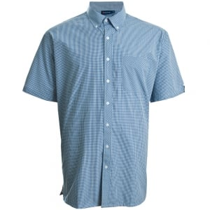Espionage Kingsize SH224 Check S/S Shirt Blue/Navy