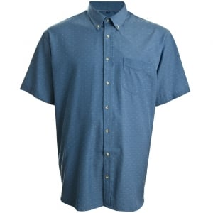 Espionage Kingsize SH232 Dobby S/S Shirt Chambray