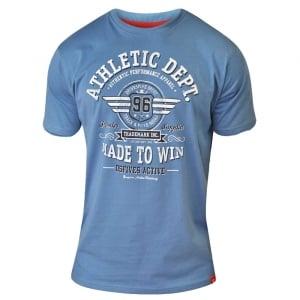D555 Kingsize Malcolm T-Shirt Blue