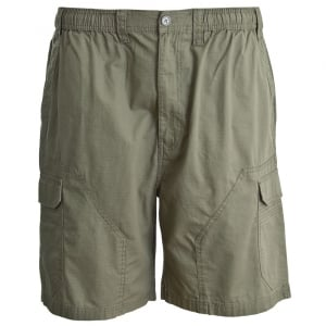 Espionage Kingsize ST034 Ripstop Cargo Shorts Olive