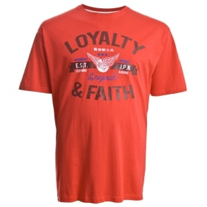 Loyalty & Faith Kingsize Japan T-Shirt Red