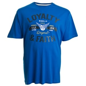 Loyalty & Faith Kingsize Japan T-Shirt Royal Blue