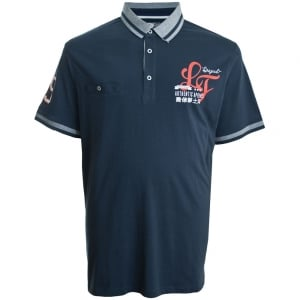 Loyalty & Faith Kingsize Bilbo Polo Midnight Navy