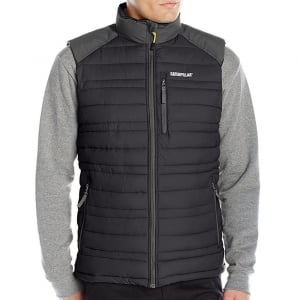 Caterpillar Kingsize Defender Insulated Gilet Black