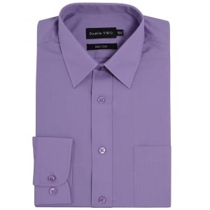 Double Two Kingsize SLX3300 Classic Long Sleeve Shirt Heather