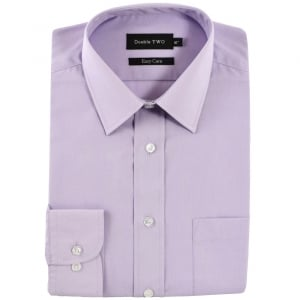 Double Two Kingsize SLX3300 Classic Long Sleeve Shirt Lilac
