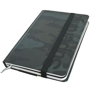 Superdry Editors Notebook Black Camo