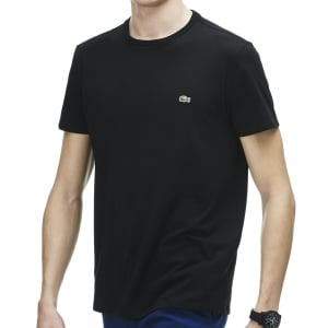 Lacoste Kingsize TH6709 Crew T-Shirt Black