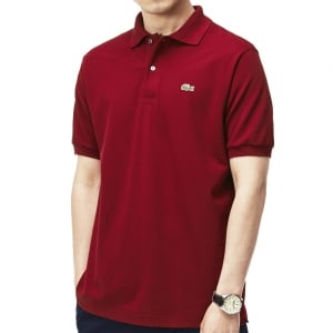 Lacoste Kingsize L1212 Polo Bordeaux
