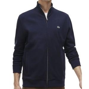 Lacoste Kingsize SH6948 Zip Sweatshirt Navy