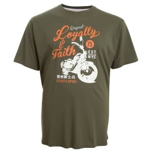 Loyalty & Faith Kingsize Smithers T-Shirt Khaki