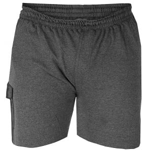 D555 Kingsize John Fleece Cargo Shorts Grey