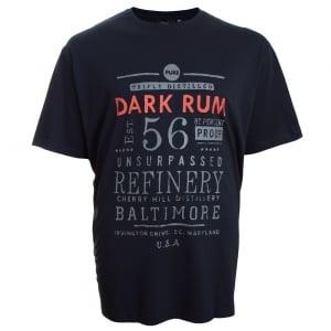 Espionage Kingsize Dark Rum T-Shirt Navy