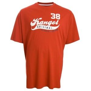 Kangol Kingsize Acenta T-Shirt Haute Red