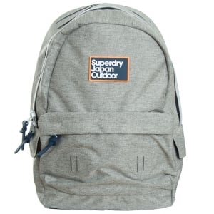 Superdry Trinity Montana Backpack Light Grey Marl