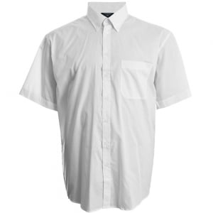 Espionage Kingsize SH149 Button Down S/S Shirt White
