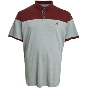 Kangol Kingsize Soho Polo Grey Marl