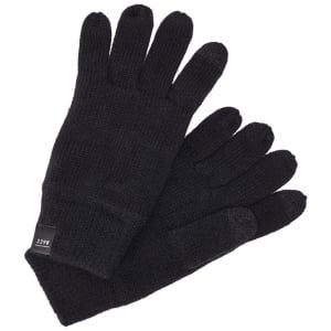 Jack and Jones DNA Gloves Black