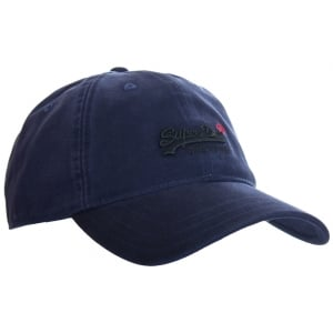 Superdry Orange Label Cap Navy