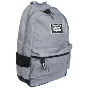 Superdry Binder Montana Backpack Grey Grit