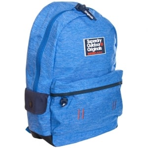 Superdry Binder Montana Backpack Blue Grit