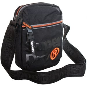 Superdry Lineman Super Sidebag Black