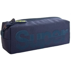 Superdry Buff Pencil Case Super Navy