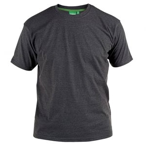 D555 Kingsize Flyers T-Shirt Charcoal