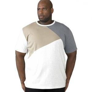 D555 Kingsize Authentic T-Shirt Oatmeal Marl