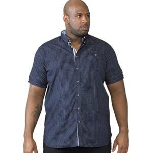 D555 Kingsize Republic S/S Shirt Navy