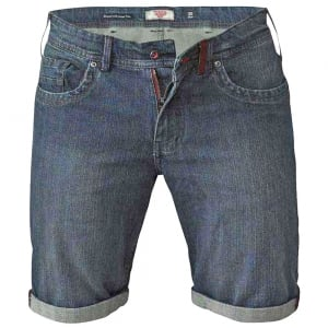 D555 Kingsize Arix Stretch Denim Shorts Vintage