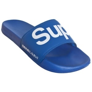 Superdry Pool Slide Cobalt/White
