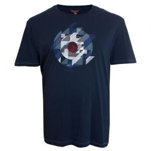 Ben Sherman Kingsize Target T-Shirt Dark Navy