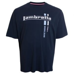 Lambretta Kingsize Original T-Shirt Navy