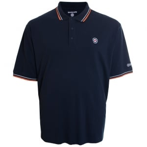 Lambretta Kingsize Twin Tipped Polo Navy