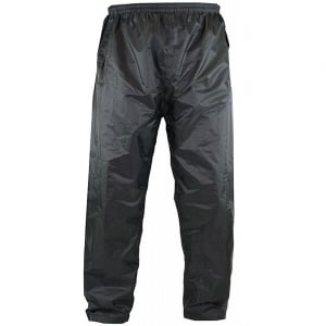 D555 Kingsize Elba Packaway Over Trouser Black