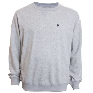 French Connection Kingsize 57JHP Crew Sweatshirt Light Grey Melange