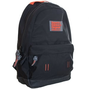 Superdry Webster Montana Backpack Black/Orange