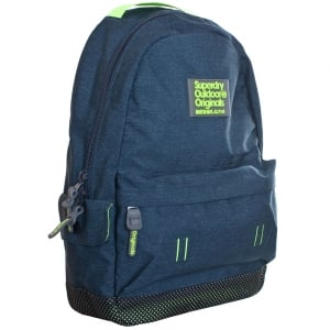 Superdry Webster Montana Backpack Blue Marl