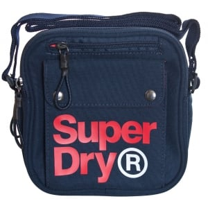Superdry Lineman Utility Bag Navy/Red