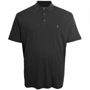 French Connection Kingsize 56JQE Basic Polo Black