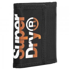 Superdry Lineman Wallet Black/Orange