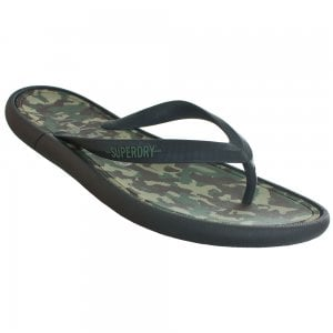Superdry Surplus Goods Flip Flops Classic Camo/Black