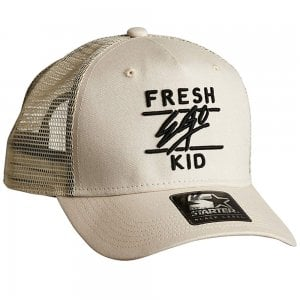 Fresh Ego Kid Trucker Starter Cap Cream/Black