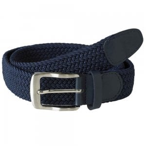 D555 Kingsize Dani Stretch Braided Belt Navy