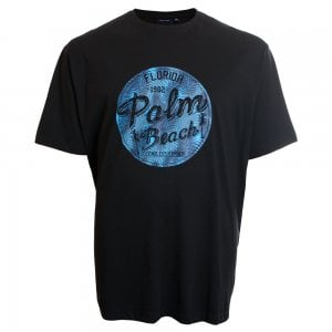 Espionage Kingsize T256 Palm Beach T-Shirt Black